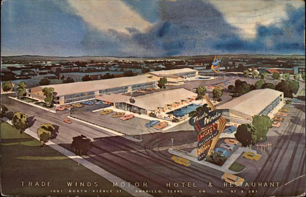 Trade Winds Motor Hotel and Restaurant Amarillo Texas