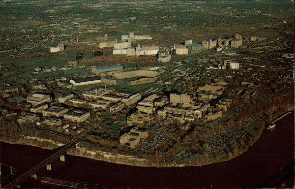 Aerial View of Campus, University of Minnesota Minneapolis
