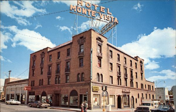 Monte Vista Hotel and Office Building Flagstaff Arizona