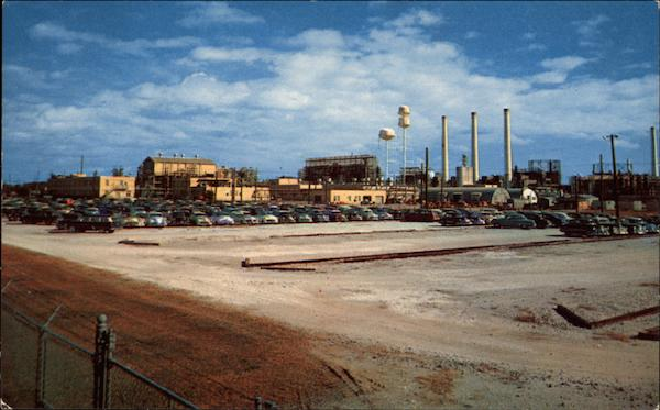 Sabine River Works, Du Pont Chemical Plant Orange Texas
