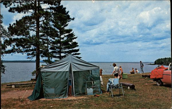 Indian Lake State Park Manistique Michigan
