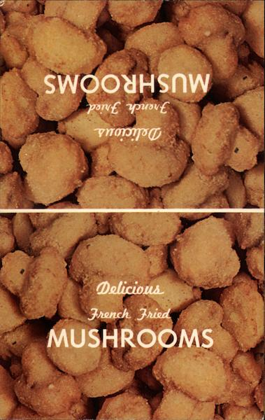 Delicious Fried Mushrooms Akron Ohio Advertising