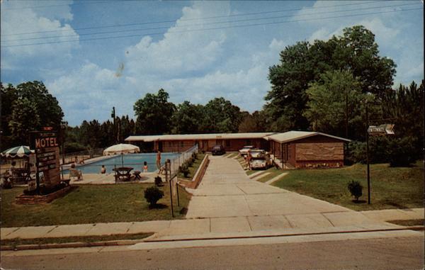 View Of Motel Swimming Pool Talbotton Ga