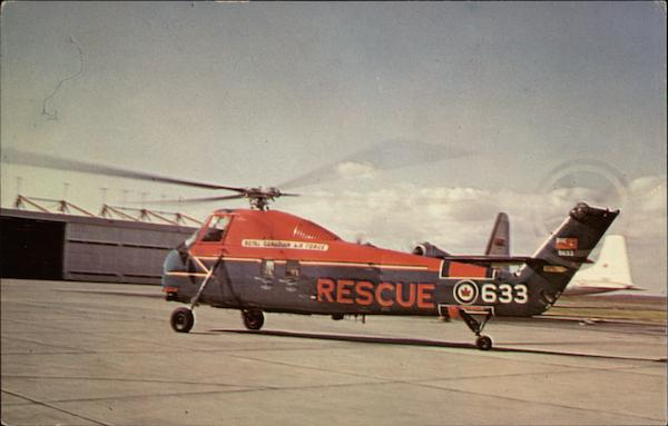 R.C.A.F. Search and Rescue Helicopter Canada Misc. Canada