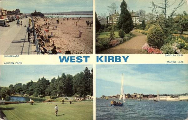 Various Views West Kirby England
