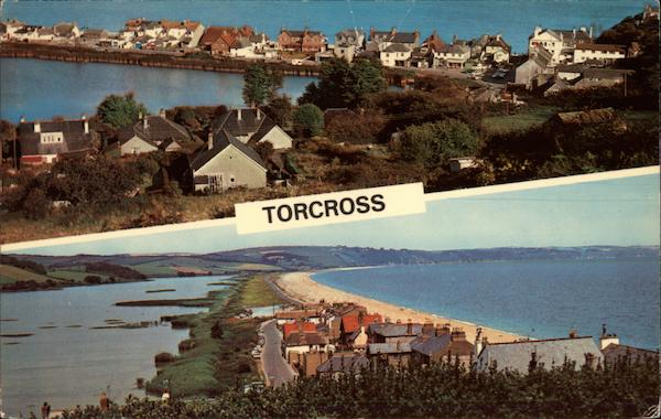 Sea and Lakeside Views of Torcross United Kingdom