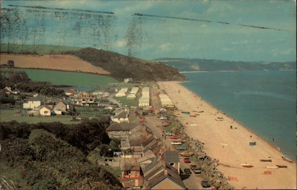 Caravan Park from the North Beesands England