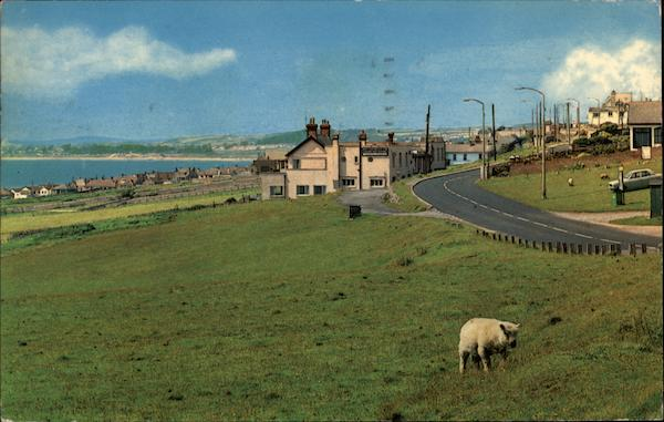 Rural Scene by the Sea Ogmore-By-Sea Wales