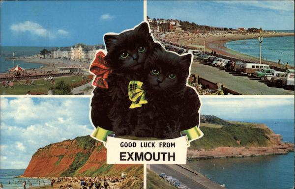 Good Luck - Various Views of Town Exmouth England