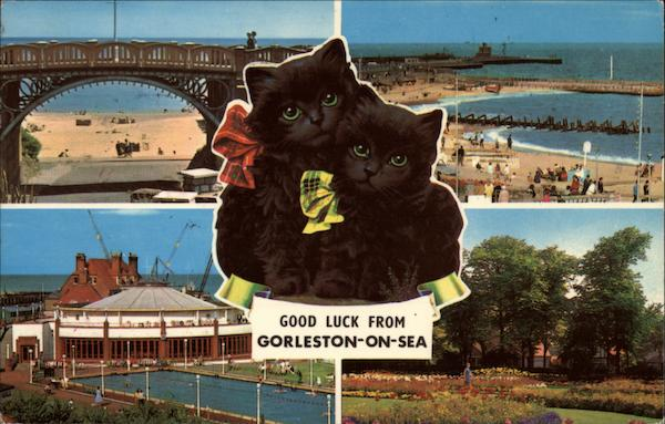 Good Luck - Various Views of Town Gorleston-on-Sea England