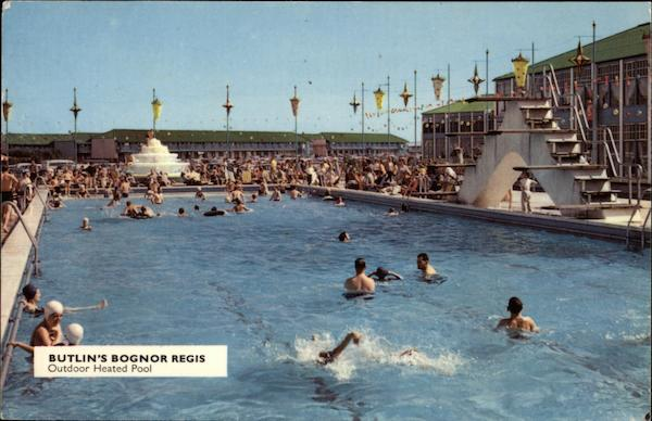 Butlin's - Outdoor Heated Pool Bognor Regis England