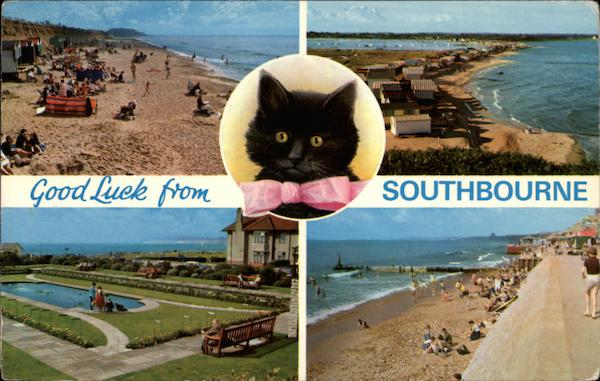 Good Luck - Various Views of Town Southbourne England