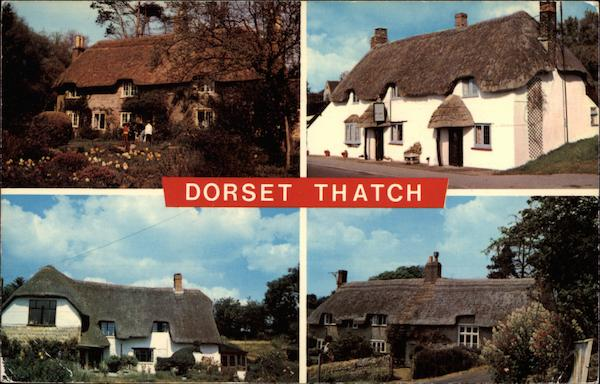 Dorset Thatch Roofs England