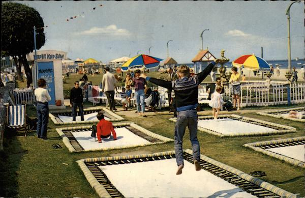 The Trampolines Isle of Wight England