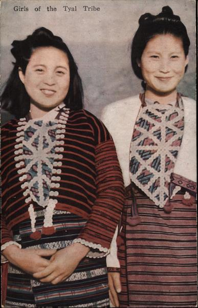 Girls of the Tyal Tribe Asian