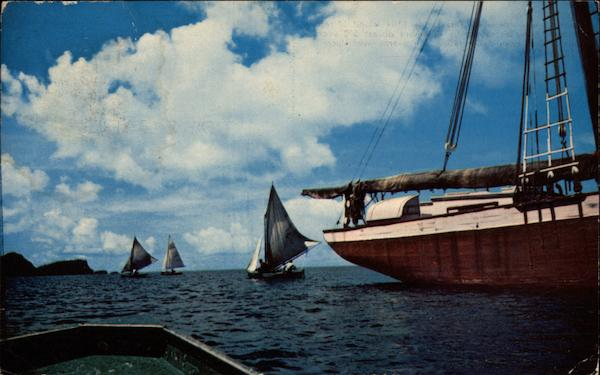 Sailing Boats Bequia Saint Vincent and the Grenadines