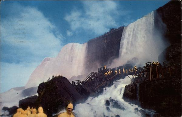 Rock of Ages is the real splendor of the Falls and Niagara Falls Canada