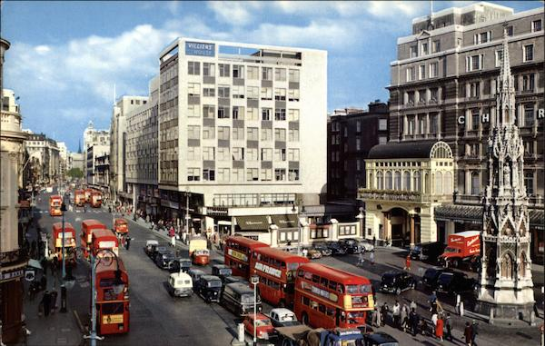 Charing Cross and The Strand London England