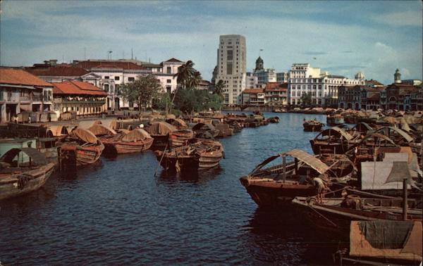 The Singapore River Southeast Asia