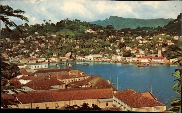 The Harbor at St. George's. Grenada St. George's