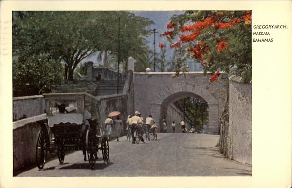 Gregory Arch Nassau Bahamas Caribbean Islands