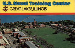 US Naval Training Center Postcard