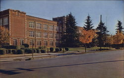 Ashley High School Postcard
