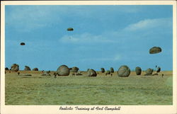 Realistic Training - 101st Airborne in Action Postcard