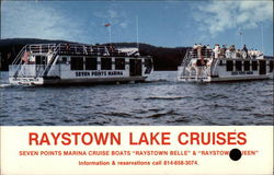 Raystown Lake Cruises Postcard