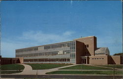 Science Hall, Ferris Institute Postcard