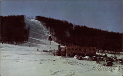 Boyne Mountain Ski Lodge Postcard