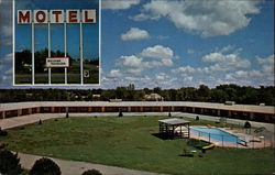 Motel Plaza Postcard
