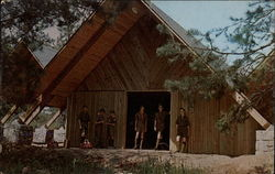 Trading Post and Craft Shelter, Bert Adams Boy Scout Reservation