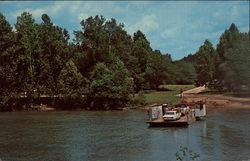 Powder Mill Ferry on Current River in the Mo. Ozarks