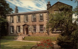 The Bronte Parsonage Museum in Haworth