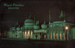 The Royal Pavilion at Night Postcard