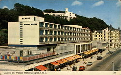 Casino and Palace Hotel Postcard