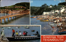 Shaldon Bridge; The Beach, Shaldon; The Ferry