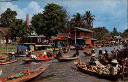 Floating Market - Wat Sai