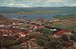 Port of Balboa and the Administration Building of the Panama Canal