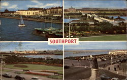Scenic Views of Southport, England