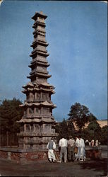 Thirteen-Story Pagoda in Seoul, Korea