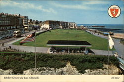 Ethelbert Crescent and Lido Postcard
