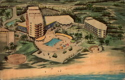 The New Aruba Carribbean Hotel and Casino Postcard