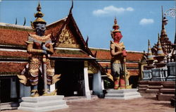The Temple of the Emerald Buddha Postcard