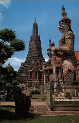 Giant Guards of the Wat Arun (Temple of Dawn)