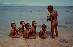 Fijian Children at Play