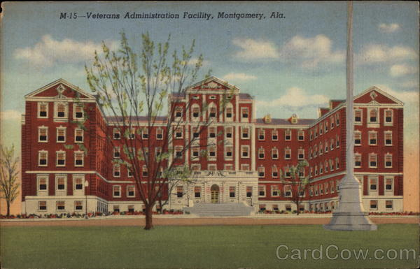 Veterans Administration Facility in Montgomery Alabama