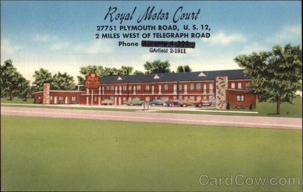 Royal Motor Court Canada New Brunswick