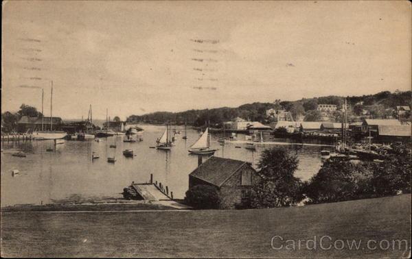 Harbor from Bok Amphitheatre Camden Maine